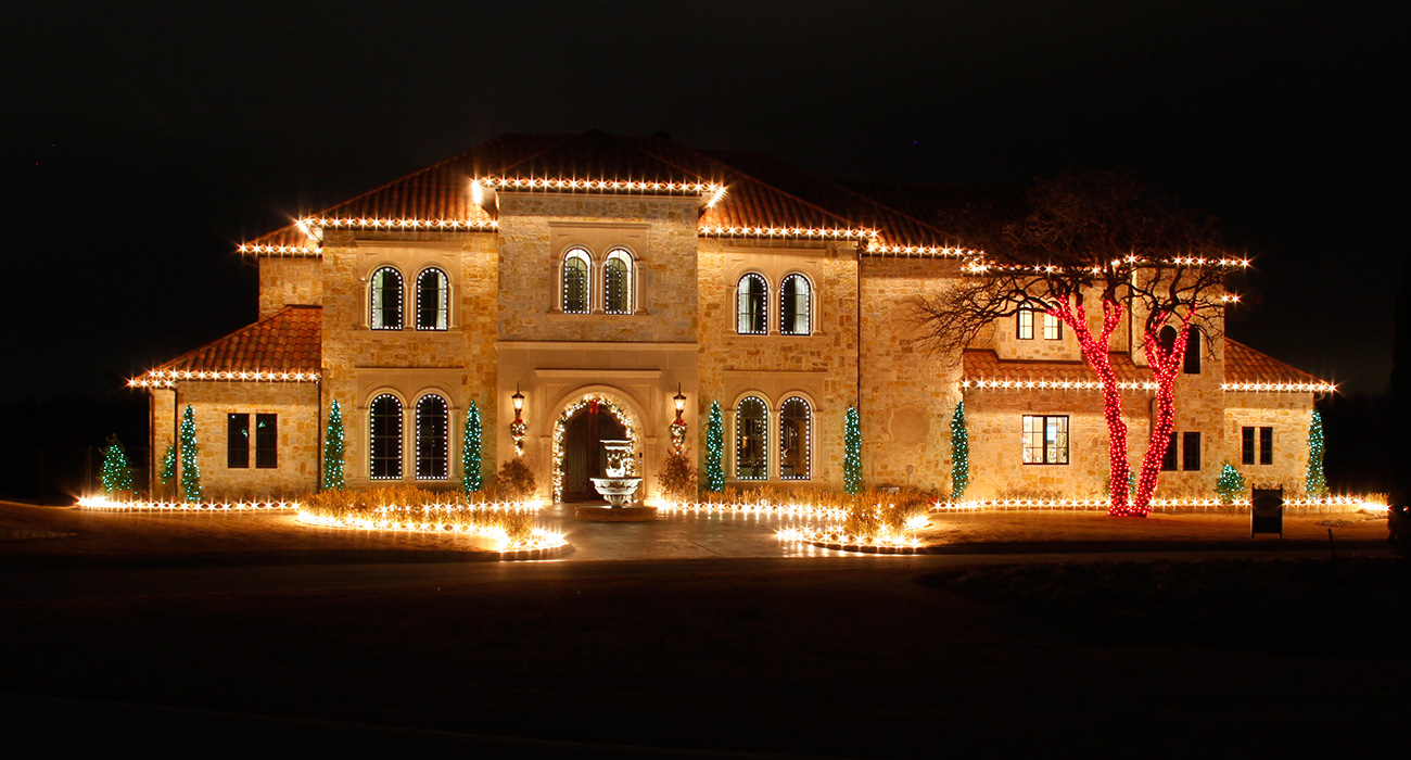 Holiday Lighting Excellence & Illumin Art Inc. North Texas Landscape Lighting Specialists